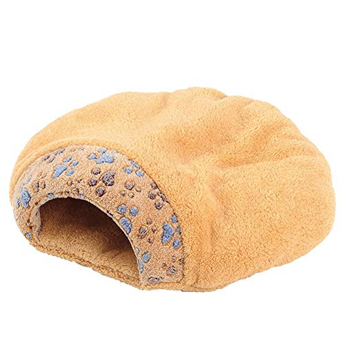 WEAO Cat Nest Cat Sleeping Bag Cat House Pet Bed Kennel Cushion, Plush Material, 2 Sizes, 4 Seasons Universal (Size : S) ()