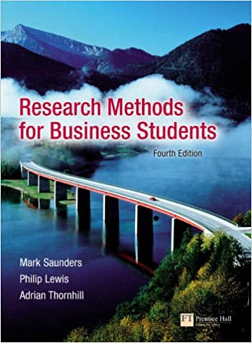 research methods for business students 2018
