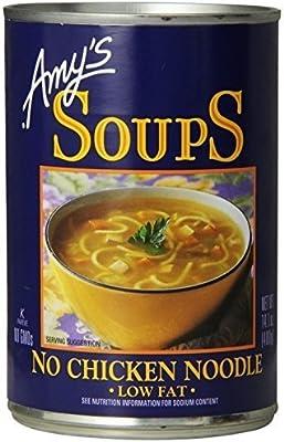 Tremendous Amys Kitchen Low Fat No Chicken Noodle Soup 141 Oz Interior Design Ideas Gentotryabchikinfo