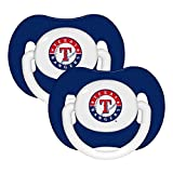Baby Fanatic Pacifier (2 Pack) - Texas Rangers