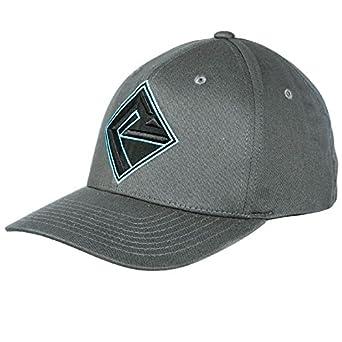 cdffc31da9dfa Rock N Roll Cowboy Mens Black and Aqua Logo Cap S M Black Aqua at ...