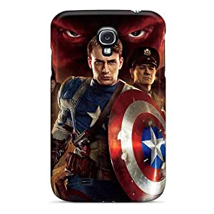 High-end Case Cover Protector For Galaxy S4(2011 Captain America First Avenger)