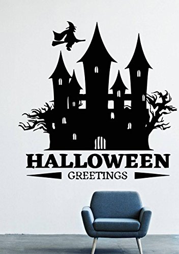 Halloween Wall Decals Decor Vinyl Stickers LM2640 -