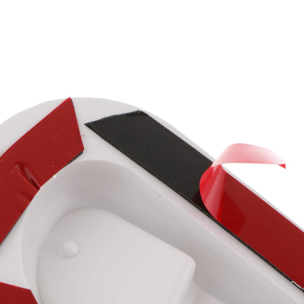 Silver Baosity 2 Pieces Car Air Flow Intake Hood Scoop Vent Cover Auto Decorative Universal