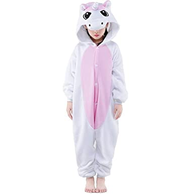 meilleur service ff21b ed596 Pyjama Enfants Unisexe Animaux Pyjama Combinaison de Nuit Grenouillère Noel  Halloween Cosplay Costume