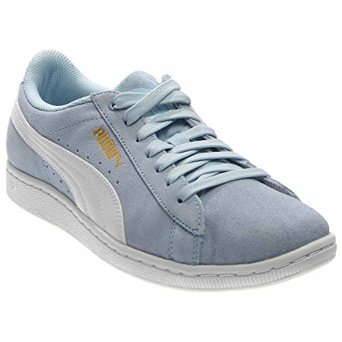 PUMA Womens Puma Vikky Sneaker Cool Blue/White (Large Image)