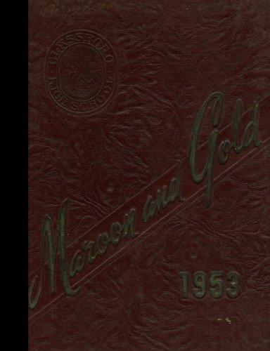 (Reprint) 1953 Yearbook: Glassboro High School, Glassboro, New ()