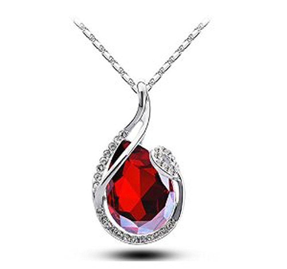 Wonvin Pendentif élégant en perles d'eau douce pour femmes Pendentif en argent 925 Diamant brillant 8-9mm Couleur Rose Blanc pourpre WVN0051