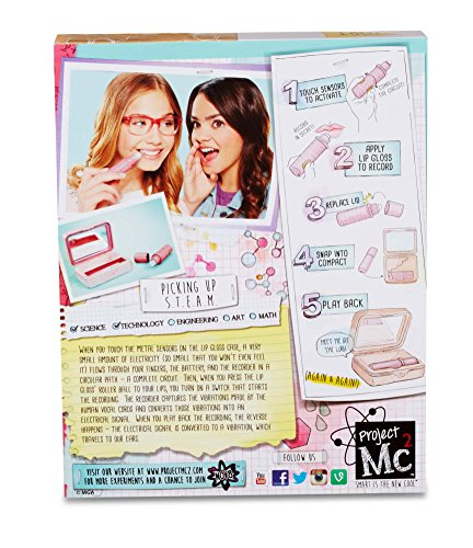 Compra Project Mc2 Lip Gloss Voice Recorder (Three AG13 Batteries Not Included) en Usame