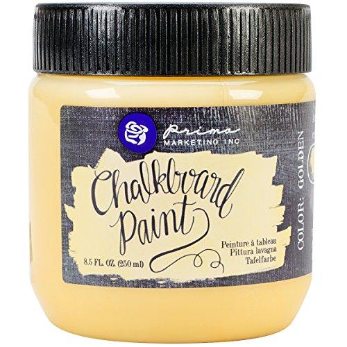 Brand New Prima Marketing Chalkboard Paint 8.5oz-Golden Brand New