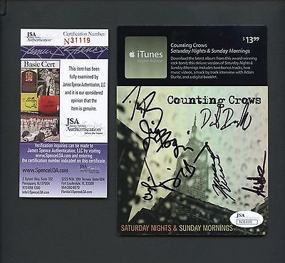 adam-duritz-6-more-counting-crows-signed-itunes-digital-release-card-jsa-auto