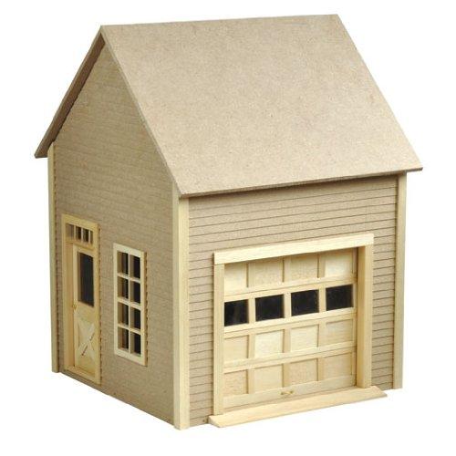Dollhouse Miniature Garage with Working Garage Door by Houseworks