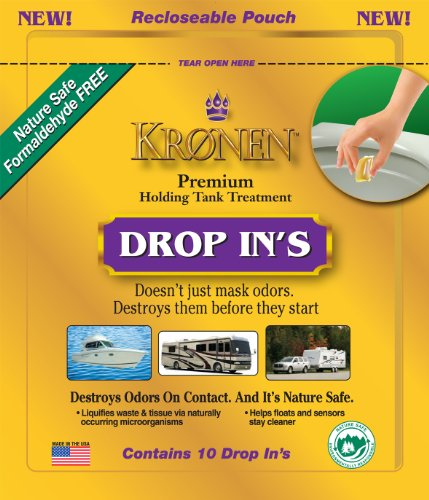kronen-kdi013-drop-ins-holding-tank-treatment-pack-of-10
