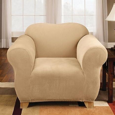 Amazon.com: Sure Fit Stretch Pique Knit - Cubierta para ...