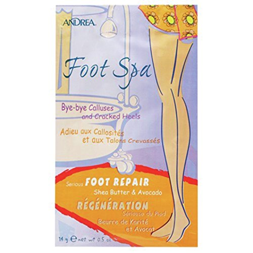 Spa Repair - Andrea Foot Spa Serious Repair, Shea Butter & Avocado