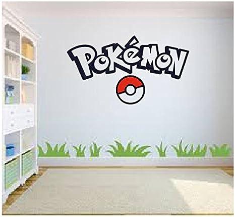 Pokemon Slowpoke Cartoon  Sticker Decal laptop Wall Car Phone Kids Room
