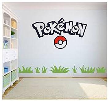 Pokemon Go Wall Art, Pokemon Wall Art, Wall Sticker Decal, Kids Room, Part 51