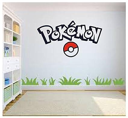 Amazon.com: Pokemon Go Wall Art, Pokemon Wall Art, Wall Sticker ...