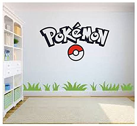Pokemon Go Wall Art, Pokemon Wall Art, Wall Sticker Decal, Kids Room, Part 43