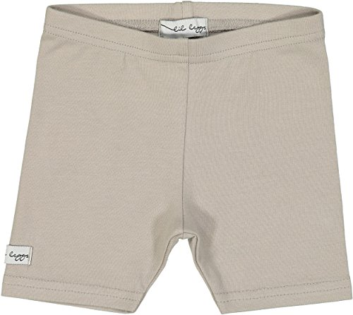 Lil Legs Unisex Boys Girls Cotton Short Leggings - Taupe, -
