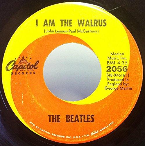 THE BEATLES HELLO GOODBYE / I AM THE WALRUS vinyl record