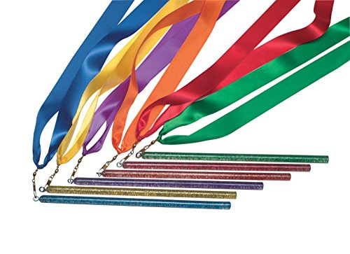 Coast Athletic Rainbow Ribbon Wands Set