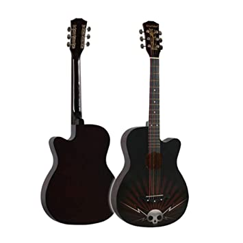 SXJC Guitarra Acústica para Principiantes Tamaño Completo 38 ...