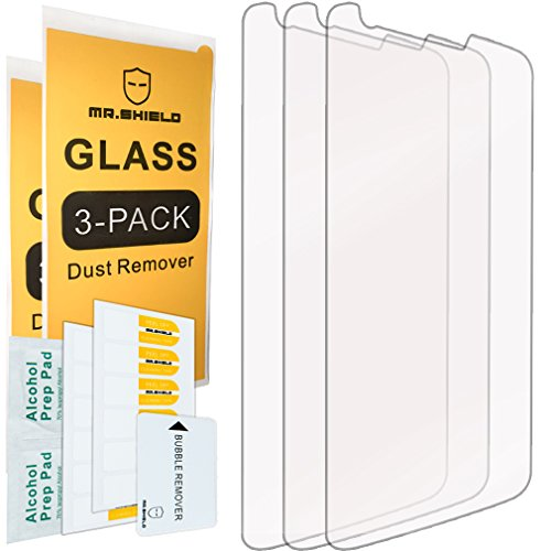 [3-PACK]-Mr Shield For LG G2 [Tempered Glass] Screen Protector with Lifetime Replacement Warranty (Tempered Glass Lg G2 compare prices)