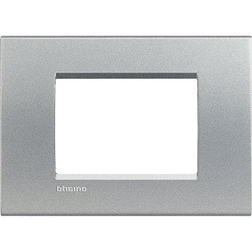 Bticino Lna4803te Placca 3 Moduli Tech Amazon It Fai Da Te