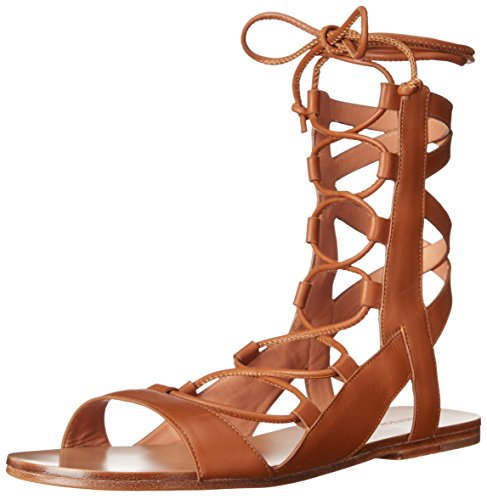 - Sigerson Morrison Women's Bunny Gladiator Sandal New Luggage 8 M US