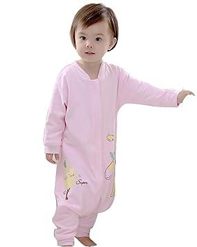 Bebé saco de dormir Saco para bebé pijama 2.5tog escalada ropa capa patas apart Thin ZYS, B: Amazon.es: Deportes y aire libre
