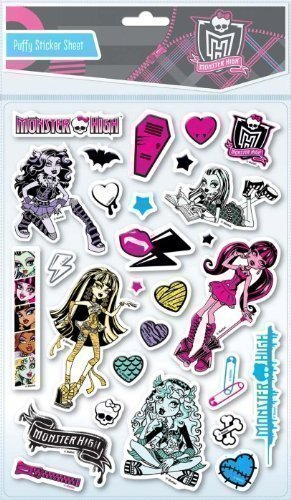 Pegatinas en Relieve Almohadilladas de Monster High para ...
