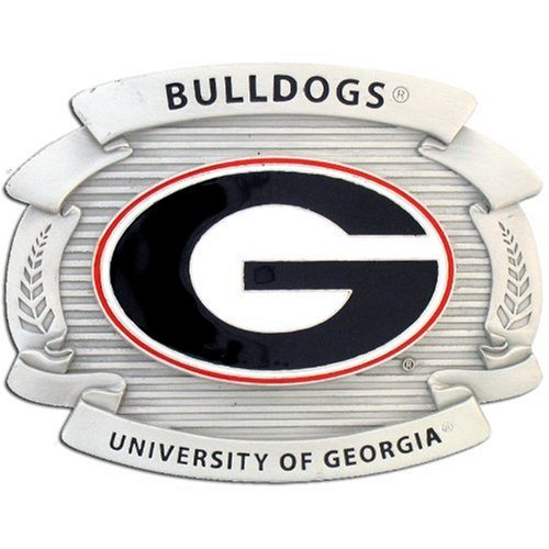 Georgia Bulldogs Buckle - Georgia Bulldogs Oversized Buckle