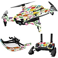 MightySkins Skin for DJI Mavic Air Drone - Flower Garden | Max Combo Protective, Durable, and Unique Vinyl Decal wrap cover | Easy To Apply, Remove, and Change Styles | Made in the USA