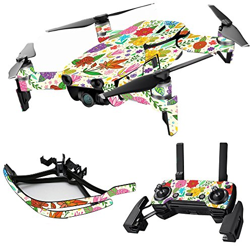 Cheap MightySkins Skin for DJI Max Coverage – Flower Garden | Protective, Durable, and Unique Vinyl Decal wrap Cover | Easy to Apply, Remove, and Change Styles | Made in The USA