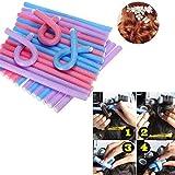 TOP 10Pcs Soft Foam Sponge Hair Curler Roller Curl Hair DIY Hair Curler Styling Tool