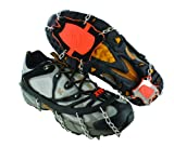 Yaktrax XTR Extreme Outdoor Traction (Black/Orange, Large)