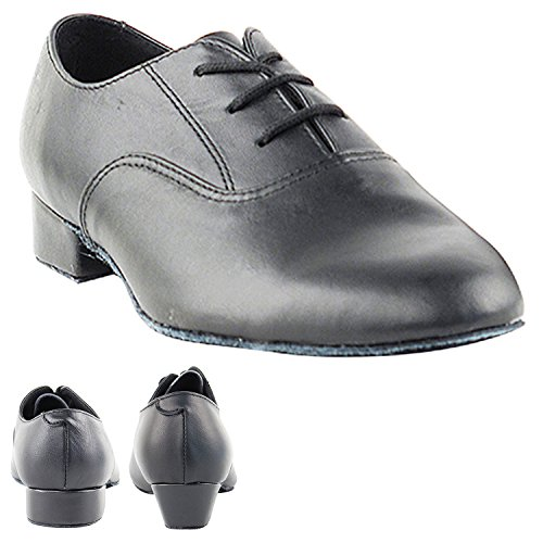 (50 Shades of Boys Dance Shoes: 919101B:Black Leather:1