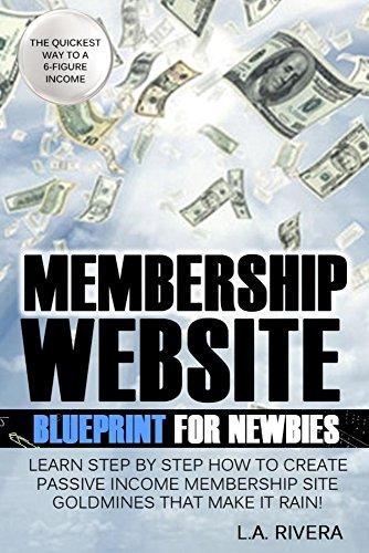 Amazon membership website blueprint for newbies learn step by membership website blueprint for newbies learn step by step how to create passive income membership malvernweather Gallery