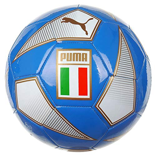 Replica Soccer Arsenal Ball - PUMA World Cup Soccer Tournament Licensed AccessoriesOfficial License Supplier of Replica and On-Pitch Merch, Team Power Blue-Peacoat-(Italy), 5
