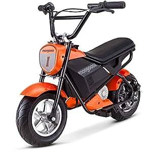 mongoose 24v mini bike orange toys games. Black Bedroom Furniture Sets. Home Design Ideas