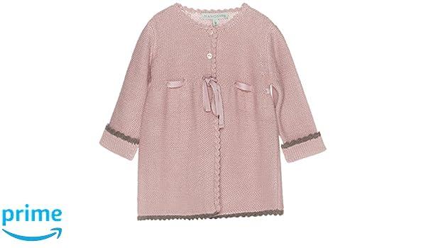 Nanos 2519057426 - Abrigo para bebé, color rosa palo, talla 9 meses: Amazon.es: Ropa y accesorios