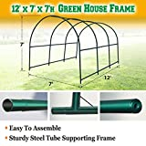 BenefitUSA Green House Replacement Spare Parts for 12'X7'X7'H Walk In Outdoor Plant Gardening Greenhouse (frame) For Sale
