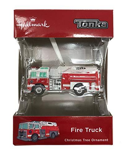 Hallmark 2018 Tonka Red Fire Truck Christmas Ornament