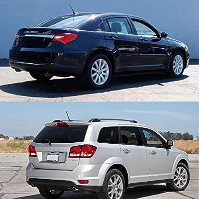 7 Inch Antenna for 2011-2020 Jeep Cherokee Grand Cherokee Dodge Durango Dart Journey Chrysler 200 | OEM 5091100AA 68297936AA 5091100AB: Car Electronics