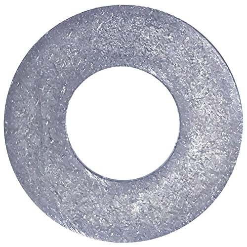#10 Flat Washers Commercial Standard, Stainless Steel 18-8, Plain Finish, Quantity 100 by Fastenere