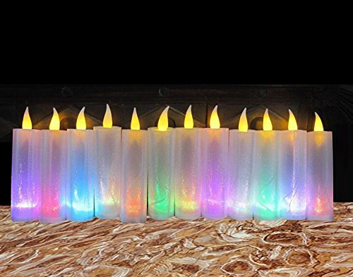 LOGUIDE Flameless Birthday Candles Decoration product image