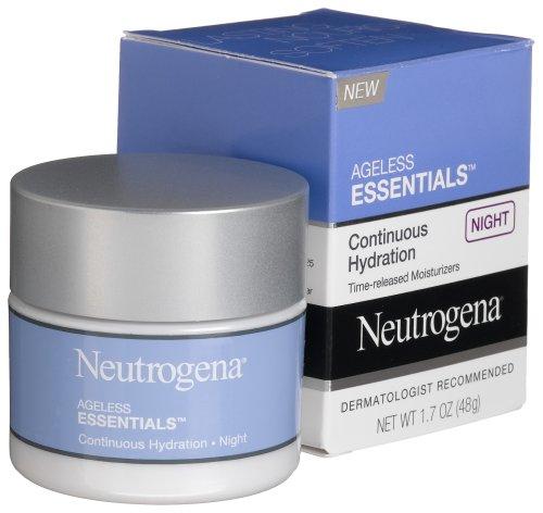 Neutrogena Hydratation Ageless Essentials continue, Nuit, 1,7 once