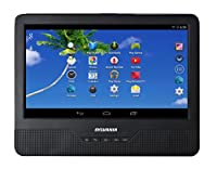 Sylvania SLTDVD9200 9-Inch Android Tablet with Integrated Portable DVD Player
