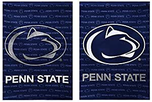 Suede Penn State Nittany Lions Two Sided Glitter Accented Garden Flag